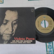 Discos de vinilo: VIOLETA PARRA - UN RIO DE SANGRE . Lote 59729699