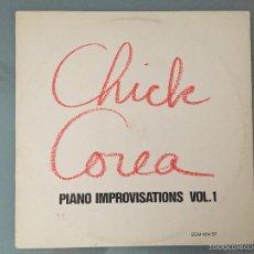 Discos de vinilo: CHICK COREA: PIANO IMPROVISATIONS VOL.1. Lote 59737692