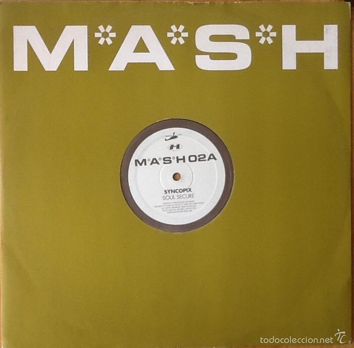 SYNCOPIX : SOUL SECURE [UK 2003] 12' (Música - Discos de Vinilo - Maxi Singles - Electrónica, Avantgarde y Experimental)