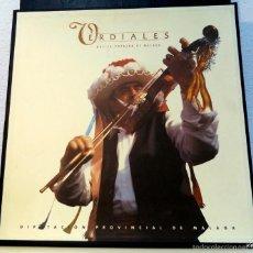 Discos de vinilo: VERDIALES. CANTES DE MALAGA. Lote 59750308