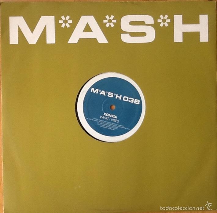 KONSTA : FLIRT [UK 2003] 12' (Música - Discos de Vinilo - Maxi Singles - Electrónica, Avantgarde y Experimental)
