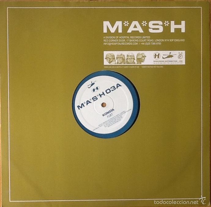 Discos de vinilo: KONSTA : FLIRT [UK 2003] 12' - Foto 2 - 59753564