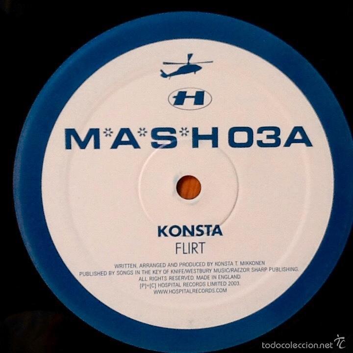 Discos de vinilo: KONSTA : FLIRT [UK 2003] 12' - Foto 3 - 59753564