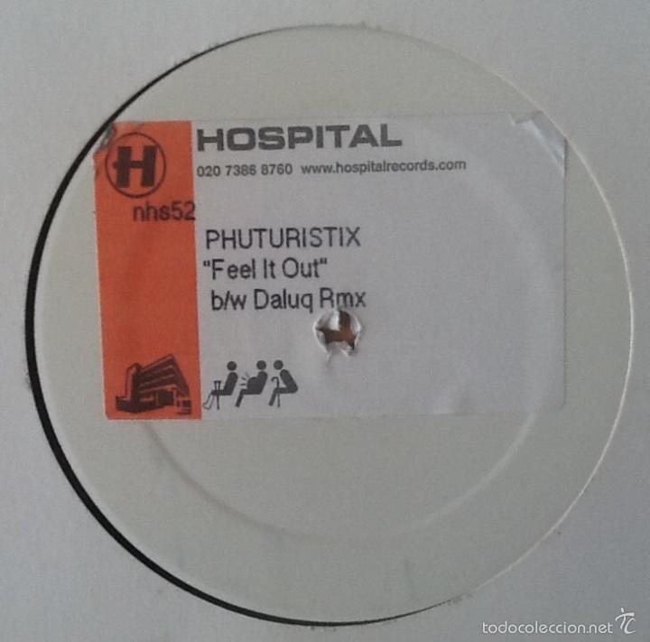 Discos de vinilo: PHUTURISTIX : FEEL IT OUT [UK 2003] 12' - Foto 2 - 59758360