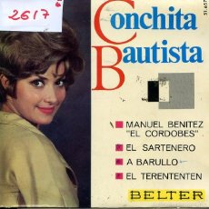 CONCHITA BAUTISTA / EL SARTENERO + 3 (EP 1966)