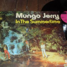 Discos de vinilo: MUNGO JERRY LP IN THE SUMMERTIME MADE IN GERMANY 1970 . Lote 59760704