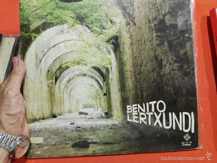 LP DOBLE BENITO LERTXUNDI (Música - Discos - LP Vinilo - Solistas Españoles de los 70 a la actualidad)