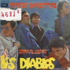 Discos de vinil: LOS DIABLOS / MANDA CHRISTMAS / CARA AL VIENTO (SINGLE PROMO 1971). Lote 59763244