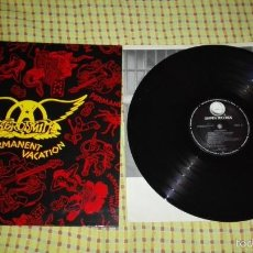 Discos de vinilo: LP AEROSMITH - PERMANENT VACATION. Lote 59765844