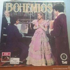 Discos de vinilo: BOHEMIOS. TEATRO LIRICO ESPAÑOL. ZARZUELA. AMADEO VIVES.1979. Lote 59778540