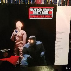 Disques de vinyle: MANFRED MANN'S EARTH BAND - SOMEWHERE IN AFRIKA. Lote 59780956