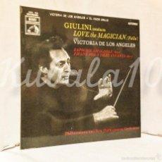Discos de vinilo: GIULINI CONDUCTS · LOVE THE MAGICIAN · VICTORIA DE LOS ANGELES · EL AMOR BRUJO . Lote 59786720