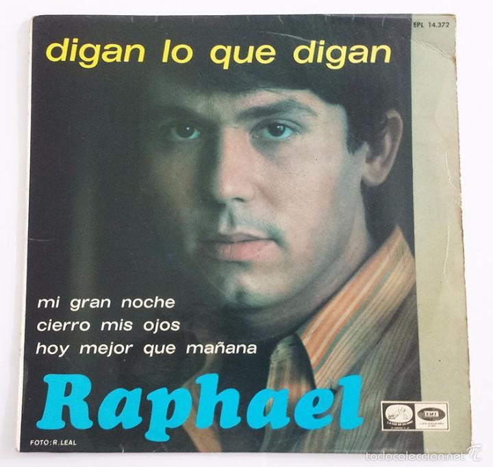 RAPHAEL SINGLE VINILO. (Música - Discos - Singles Vinilo - Solistas Españoles de los 70 a la actualidad)