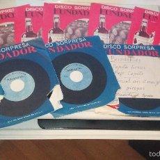 Discos de vinilo: FUNDADOR - DISCO SORPRESA - DISCOS SORPRESA - LOTE DE 12 DISCOS. Lote 59795028