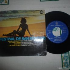 Discos de vinilo: FESTIVAL DE SAN REMO 66. Lote 59803136