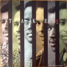 Discos de vinilo: TAKE 6 : TAKE 6 (DOO BE BOO WOP BOP!) [DEU 1988] LP. Lote 55051182
