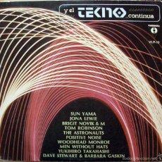 Discos de vinilo: Y EL TEKNO CONTINÚA - VARIOS / ESPAÑA 1982. Lote 59819672