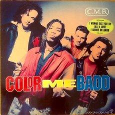 Discos de vinilo: COLOR ME BADD : C.M.B. [DEU 1991]. Lote 59826488