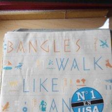 Discos de vinilo: BANGLES - WALK LIVE AN EGYPTIAN - SINGLE VINILO. Lote 59837060