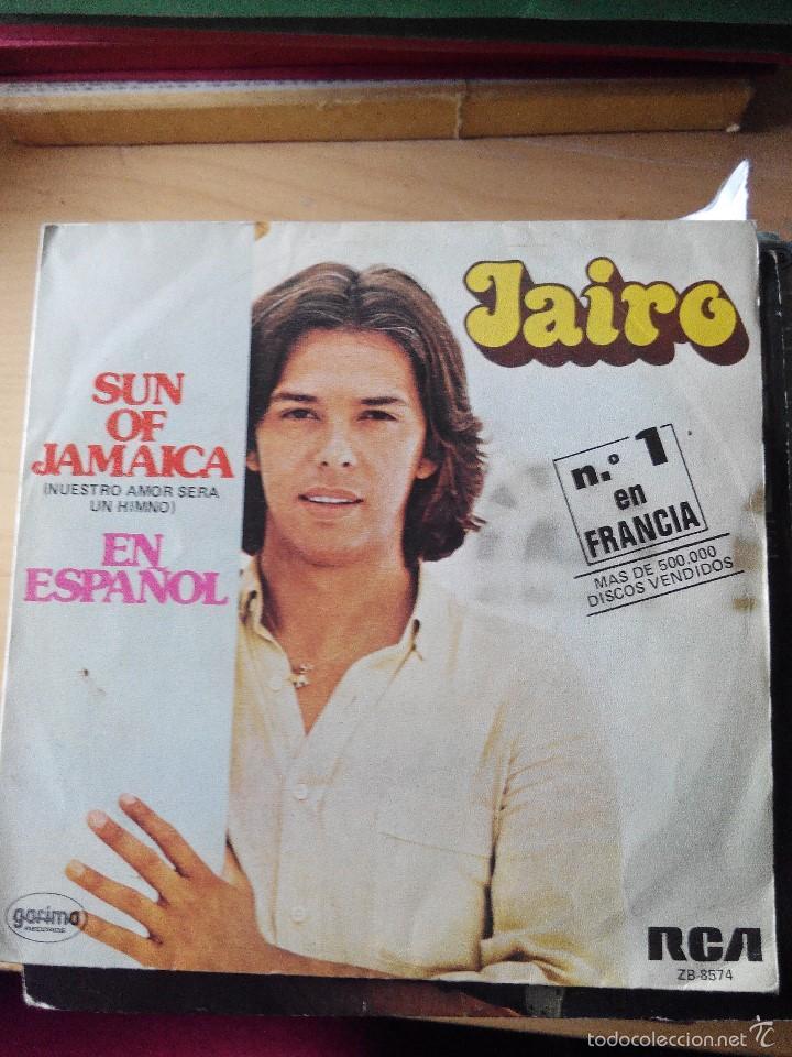 JAIRO - SUN OF JAMAICA - SINGLE VINILO (Música - Discos - Singles Vinilo - Grupos y Solistas de latinoamérica)