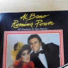 Discos de vinilo: AL BANO Y ROMINA POWER - CI SARA - SINGLE VINILO. Lote 59840948