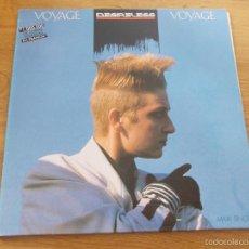 Disques de vinyle: DESIRELESS- VOYAGE VOYAGE. Lote 59842612
