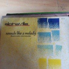 Discos de vinilo: ALPHAVILLE - SOUNDS LIKE A MELODY - SINGLE VINILO. Lote 59845496