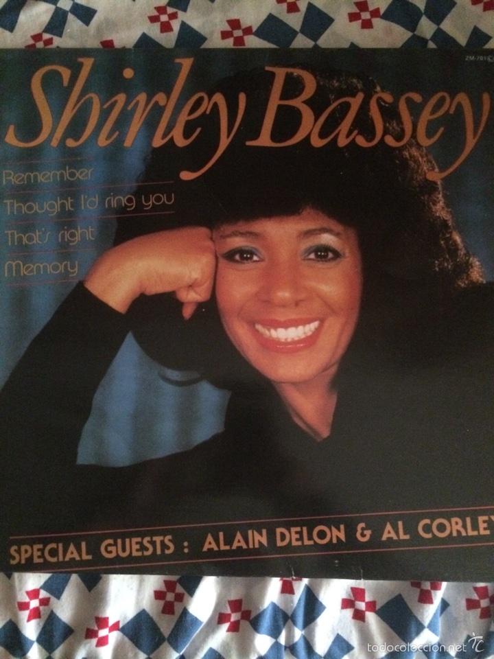 SHIRLEY BASSEY-REMEMBER-1984-NUEVO (Música - Discos de Vinilo - Maxi Singles - Funk, Soul y Black Music)