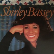 Discos de vinilo: SHIRLEY BASSEY-REMEMBER-1984-NUEVO. Lote 59856474