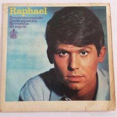 Discos de vinilo: RAPHAEL SINGLE VINILO.. Lote 59860284
