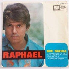 Discos de vinilo: RAPHAEL SINGLE VINILO.. Lote 59860908