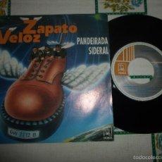 Discos de vinilo: ZAPATO VELOZ - PANDEIRADA SIDERAL. Lote 59891363