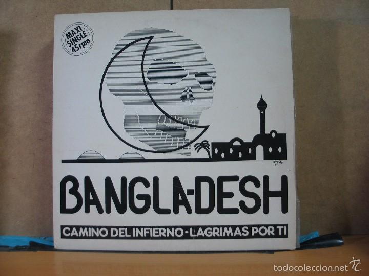BANGLA-DESH - CAMINO DEL INFIERNO / LAGRIMAS POR TI - OPEN RECORDS OMX-1146 - 1988 (Música - Discos de Vinilo - Maxi Singles - Heavy - Metal)