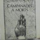 Discos de vinilo: LP LLUIS LLACH CAMPANADES A MORTS. Lote 59934547