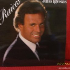 Discos de vinilo: JULIO IGLESIAS - RAICES -. Lote 59938583