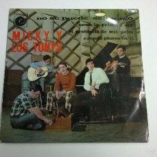 Discos de vinilo: MICKY Y LOS TONYS.NO SE PUEDE SER VAGO.EP.ESPAÑA 1967.NOVOLA.. Lote 59969419