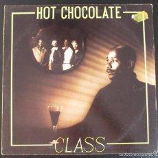 Discos de vinilo: LP - HOT CHOCOLATE - CLASS - 1980 MADE IN GERMANY - CONTIENE FUNDA CON LETRAS DE LAS CANCIONES. Lote 59975007