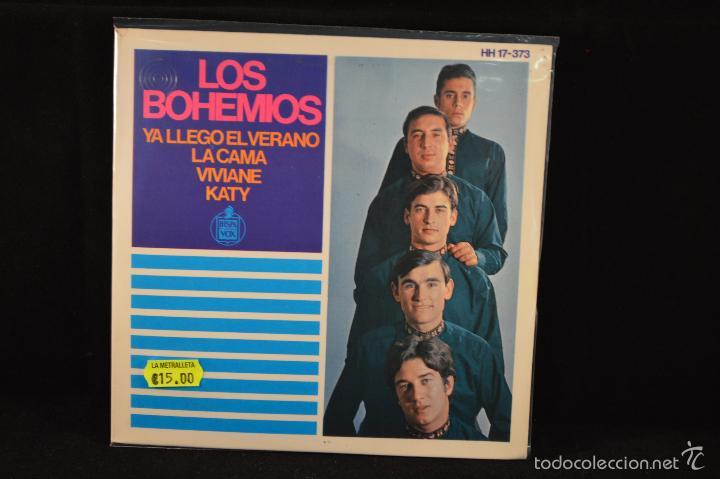 LOS BOHEMIOS - KATY +3 - EP (Música - Discos de Vinilo - EPs - Grupos Españoles 50 y 60)