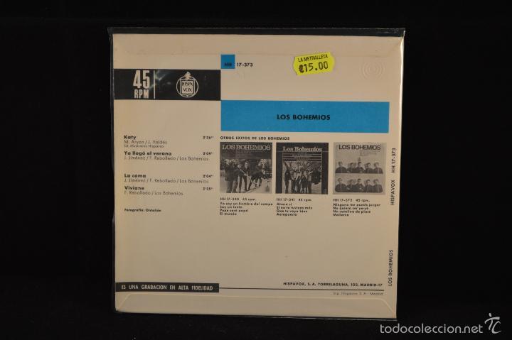 Discos de vinilo: LOS BOHEMIOS - KATY +3 - EP - Foto 2 - 59976855