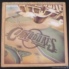 Discos de vinilo: COMMODORES - NATURAL HIGH - 1978 MOTOWN - MADE IN GERMANY. Lote 59979139