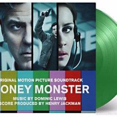 Discos de vinilo: DOMINIC LEWIS - MONEY MONSTER BANDA SONORA ORIGINAL LTD. VINILO VERDE 180G LP PRECINTADO. Lote 59987915
