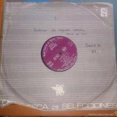 Discos de vinilo: GRAN FESTIVAL DE MUSICA SELECTA. . Lote 60012335