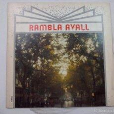 Discos de vinilo: LP. RAMBLA AVALL. . Lote 60036303
