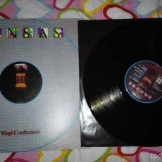 Discos de vinilo: LP DE KANSAS 1982 - VINYL CONFESSIONS - CBS RECORDS. Lote 60061023