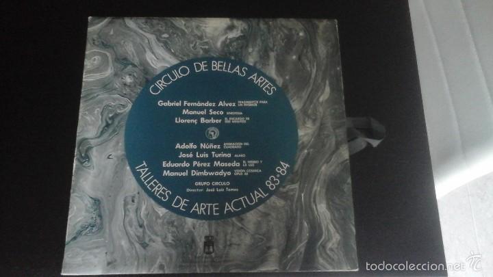 CÍRCULO DE BELLAS ARTES . TALLERES DE ARTE ACTUAL 83-84 GRUPO CÍRCULO DISCO + LÁMINAS EXCELENTE (Música - Discos de Vinilo - EPs - Electrónica, Avantgarde y Experimental)