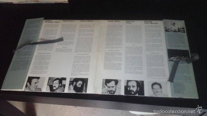 Discos de vinilo: Círculo de Bellas Artes . Talleres de Arte Actual 83-84 Grupo Círculo Disco + Láminas Excelente - Foto 2 - 60074747