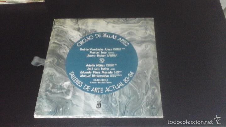 Discos de vinilo: Círculo de Bellas Artes . Talleres de Arte Actual 83-84 Grupo Círculo Disco + Láminas Excelente - Foto 3 - 60074747