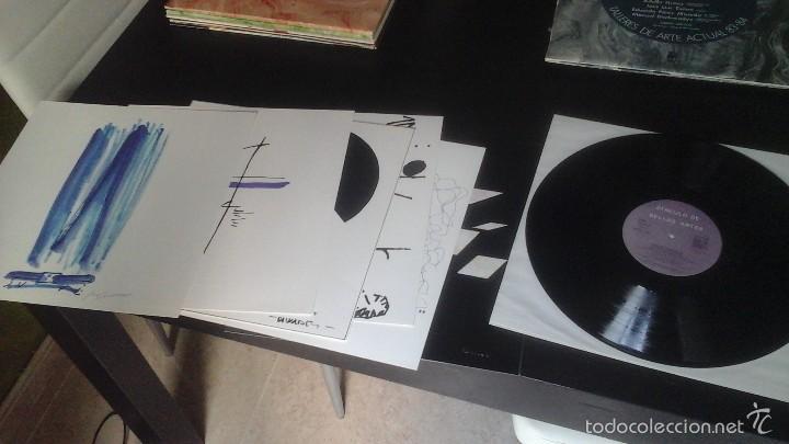 Discos de vinilo: Círculo de Bellas Artes . Talleres de Arte Actual 83-84 Grupo Círculo Disco + Láminas Excelente - Foto 4 - 60074747
