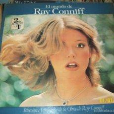 Discos de vinilo: RAY CONNIFF - EL MUNDO DE RAY CONNIFF DISCO DOBLE LP PORTADA DOBLE CBS SPA 1977. Lote 60075723