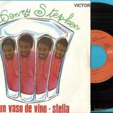 Disques de vinyle: HENRY STEPHEN: UN VASO DE VINO / STELLA. Lote 60080839
